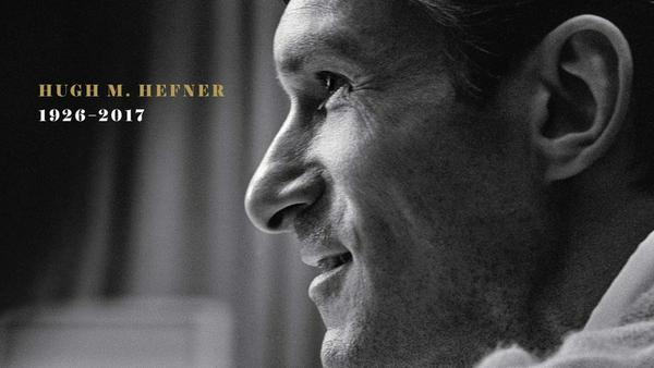 """Erinnerung an junge Jahre: Das neue Cover des amerikanischen """"Playboy"""" mit Hugh Hefner"""