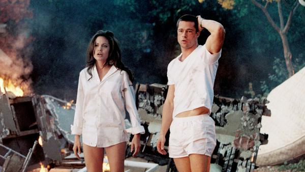 """""""Mr. & Mrs. Smith"""": Jane (Angelina Jolie) und John Smith (Brad Pitt) sind kein normales Ehepaar"""