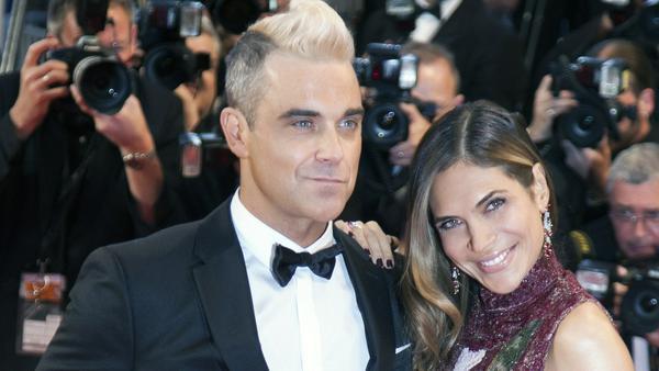 Seit 2010 sind Robbie Williams und Ayda Field verheiratet