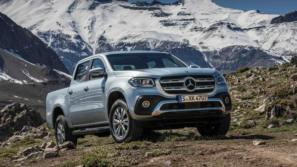Mercedes X-Klasse: Jetzt auch den Pick-up im Angebot