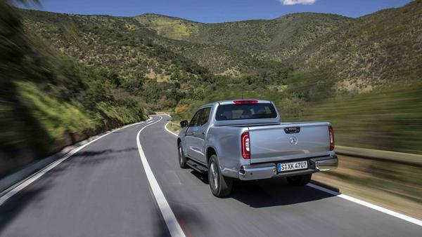 Der Benz-Pick-up wird in Barcelona gefertigt
