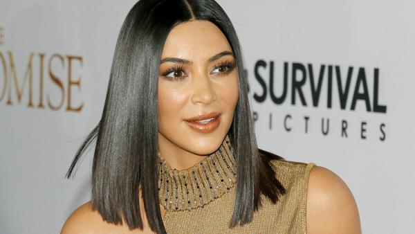 Kim Kardashian bei einer Veranstaltung in Hollywood