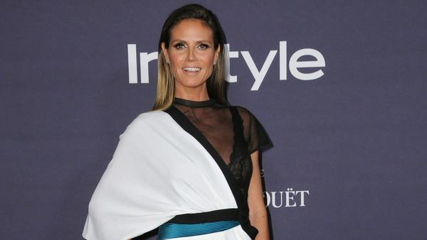 Heidi Klum bei den InStyle Awards 2017 in Los Angeles