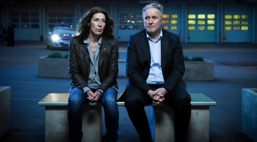 Bibi und Moritz alias Adele Neuhauser und Harald Krassnitzer im neuen Wiener