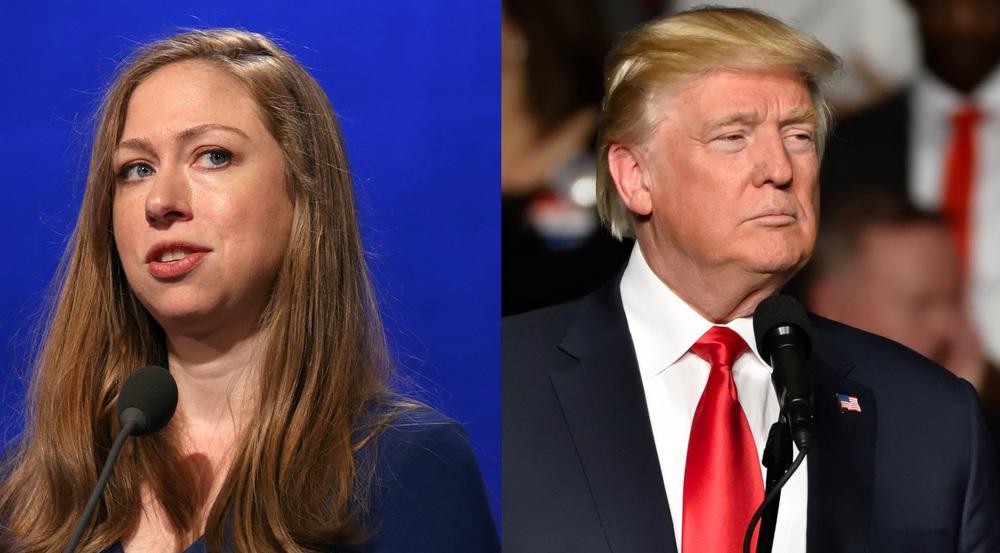 Chelsea Clinton hatte auf Twitter eine schlagfertige Antwort für Donald Trump parat
