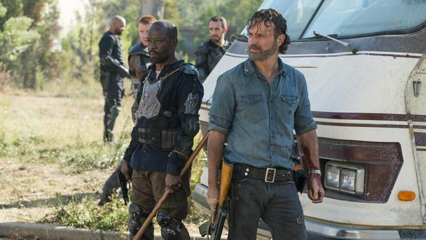 """Wird einer von Ricks (Andrew Lincoln) Freunden die Show wechseln? Oder bekommt er Besuch aus """"Fear the Walking Dead""""?"""