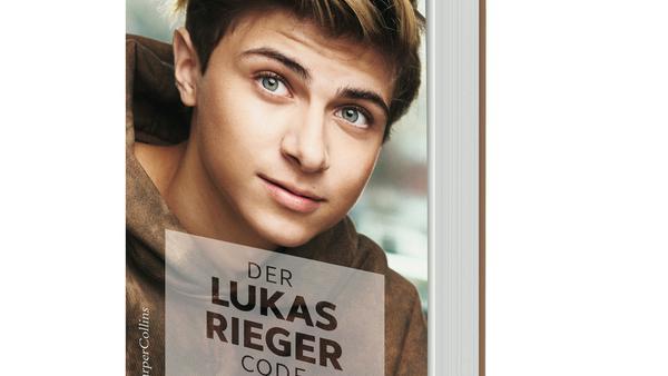 """Das Cover von """"Der Lukas Rieger Code"""""""