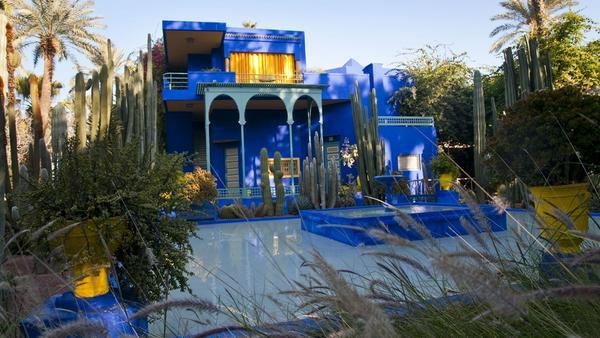 Im Jardin Majorelle von Yves Saint Laurent