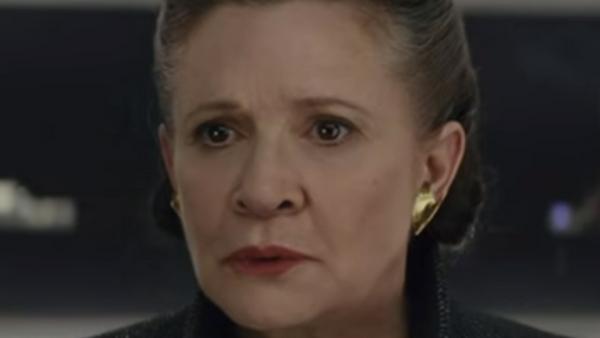"""Carrie Fisher im """"Star Wars: Die letzten Jedi""""-Trailer"""