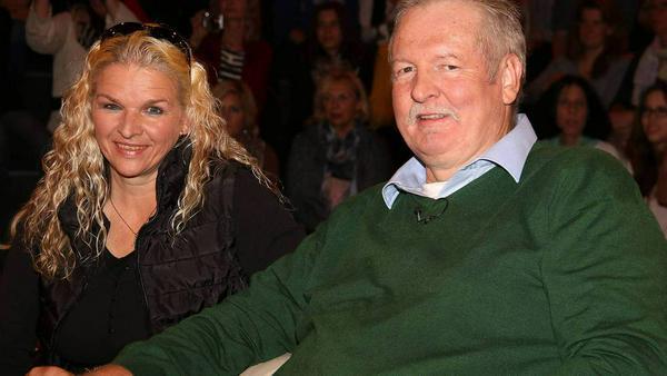 Carmen und Tamme Hanken bei einem TV-Auftritt