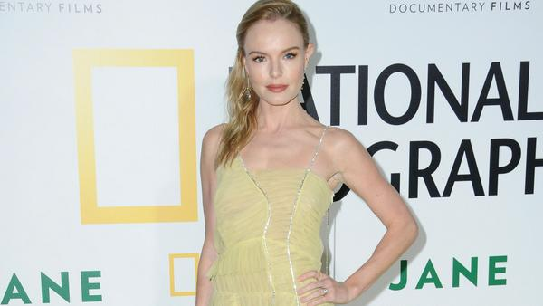In einem zarten gelben Kleid verzauberte Kate Bosworth die Fotografen