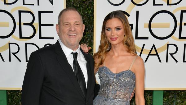 Aktuell schwer vorstellbar, dass sich Harvey Weinstein und seine Frau Georgina Chapman je wieder so innig zeigen werden