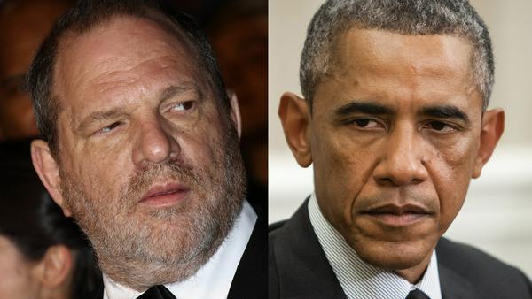 Harvey Weinstein bekommt nun sogar von Barack Obama Gegenwind