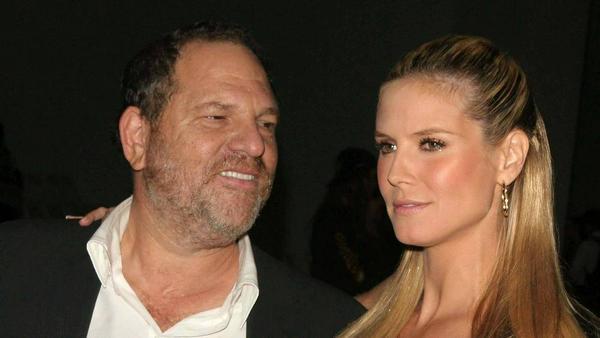 Heidi Klum und Harvey Weinstein kennen sich schon viele Jahre - hier ein Bild von 2006