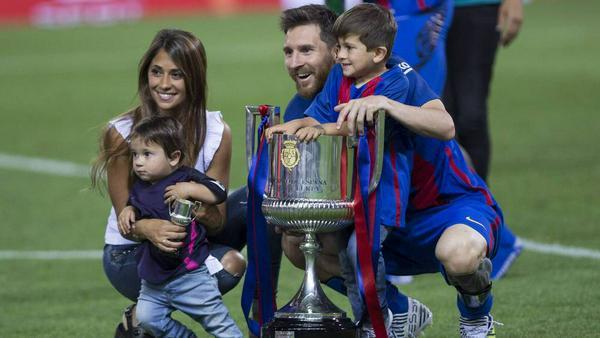 Familie Messi hat mal wieder Grund zur Freude