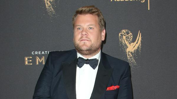 Seine Weinstein-Witze kamen beim Publikum nicht gut an: TV-Host James Corden