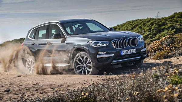 Auch geländetauglich: der neue BMW X3