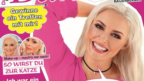 "Cover des Magazins ""Daniela Katzenberger"""