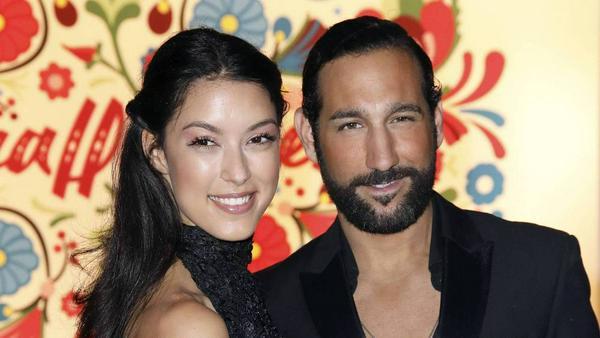 Model Rebecca Mir und Tänzer Massimo Sinató sind seit 2015 verheiratet
