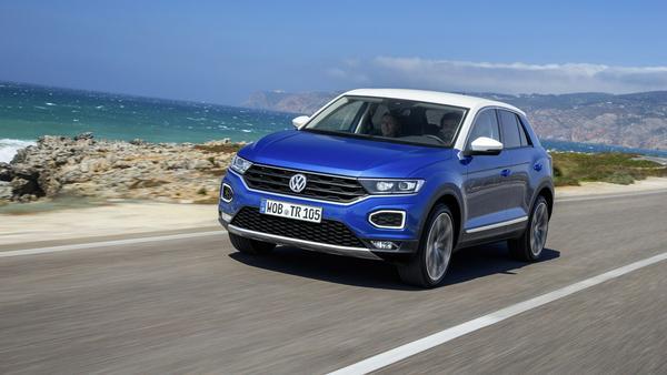 Schicker Lifestyle-SUV für die Stadt: der neue VW T-Roc