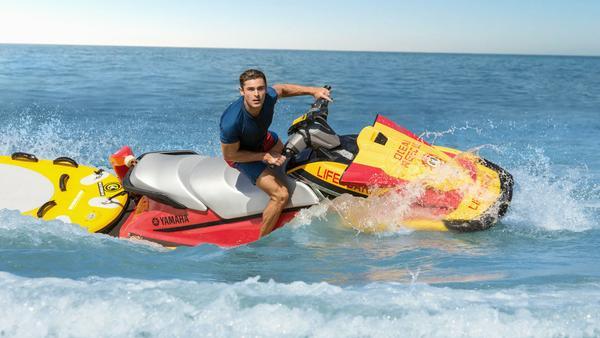 "Zac Efron alias Matt Brody in ""Baywatch"""