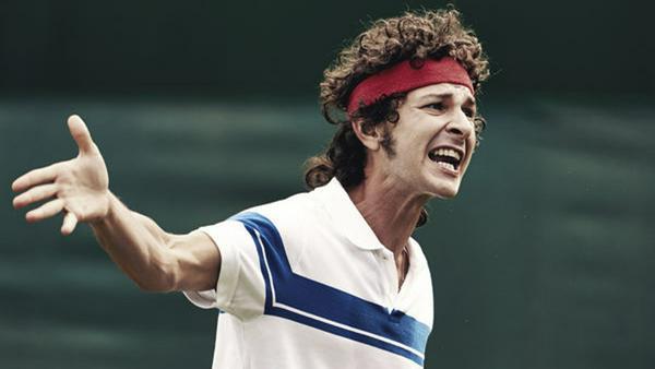 Der Klaus Kinski unter den Tennis-Profis? Shia LaBeouf als John McEnroe