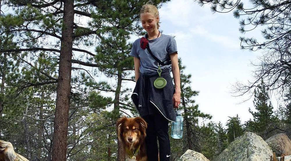Schauspielerin Amanda Seyfried liebt Wandern und die Natur