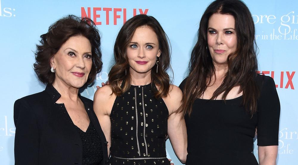 "Die ""Gilmore Girls"": Kelly Bishop (l.), Alexis Bledel (M.) und Lauren Graham"