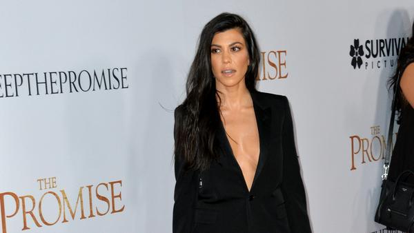 So sieht Kourtney Kardashian nicht mehr aus