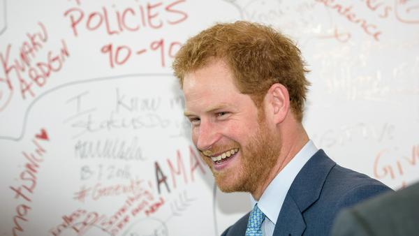 Prinz Harry hat das Geheimnis gelüftet