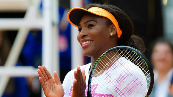 Serena Williams wurde erst vor kurzem Mutter