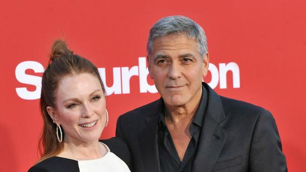 Julianne Moore versteht sich gut mit George Clooney - wählen würde sie ihn trotzdem nicht