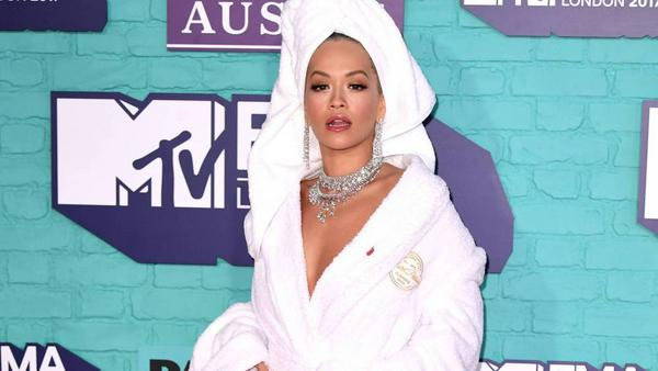 Ihr Look war sexy, aber ungewöhnlich: Rita Ora