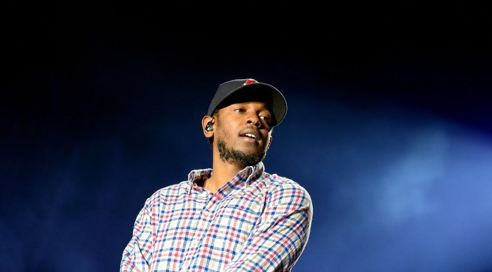 Kendrick Lamar bei einem Auftritt in Barcelona