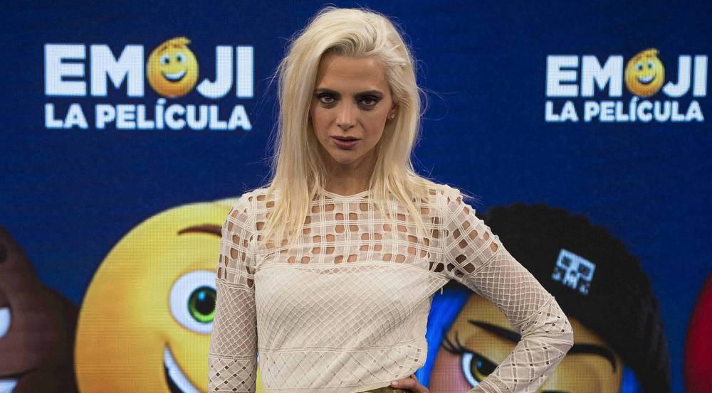 Sie trägt neuerdings Blond: Schauspielerin Macarena Gómez beim