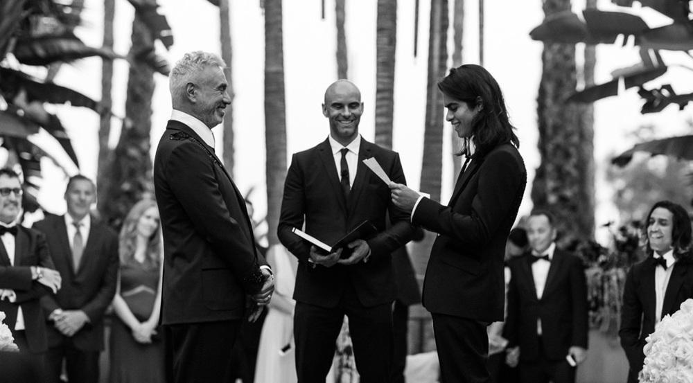 Roland Emmerich: Starbesetzte Hochzeit in Hollywood