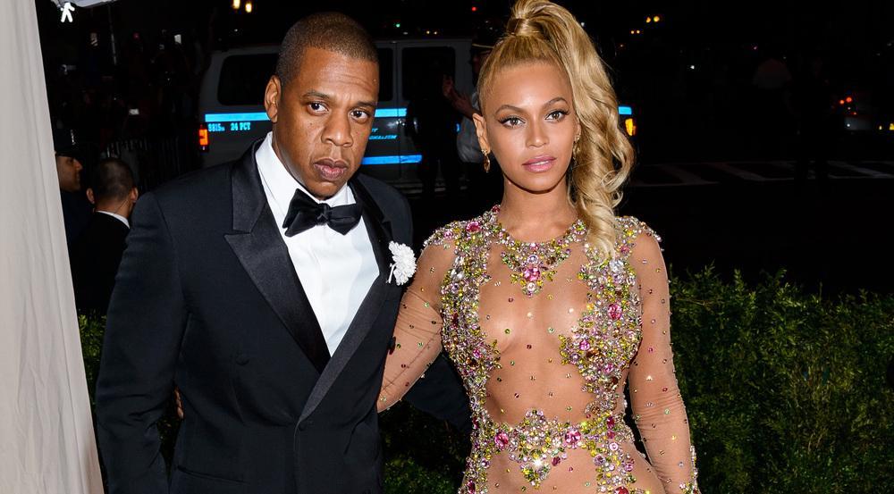 Jay Z und Beyoncé gemeinsam auf einem Event in New York