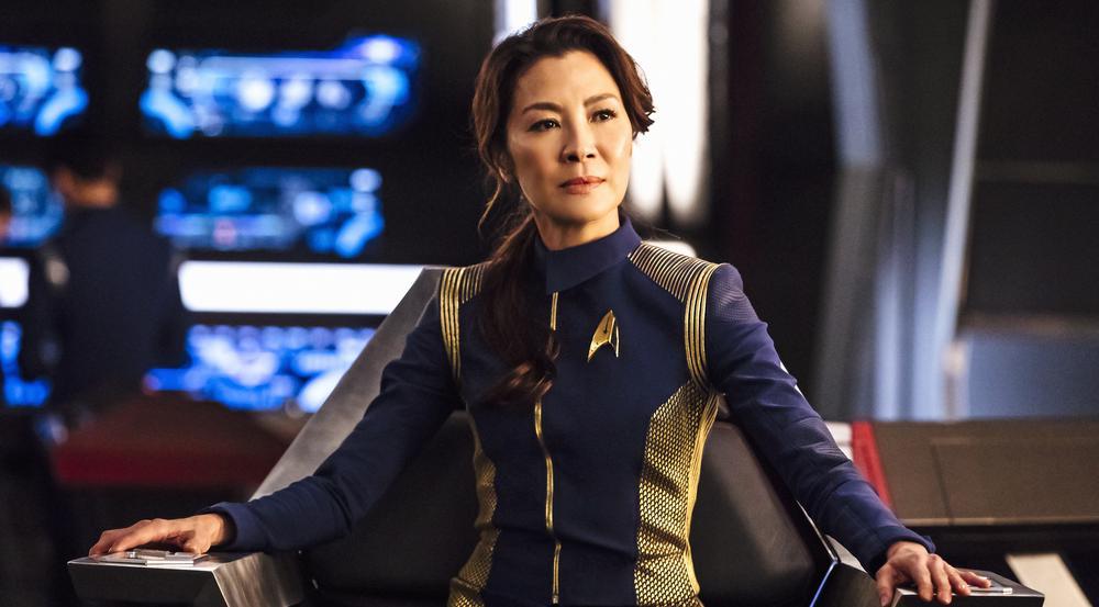 Michelle Yeoh als Captain Georgiou in