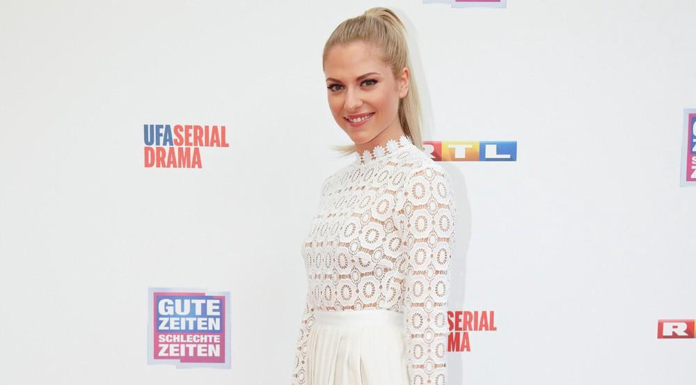 """Valentina Pahde ist seit Januar 2015 als Sunny Richter bei """"Gute Zeiten, schlechte Zeiten"""" zu sehen"""