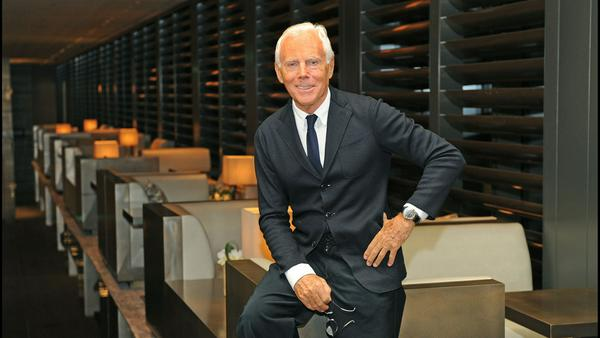 Giorgio Armani gründete sein Modelabel 1975 - heute ist er einer der bekanntesten Designern der Welt