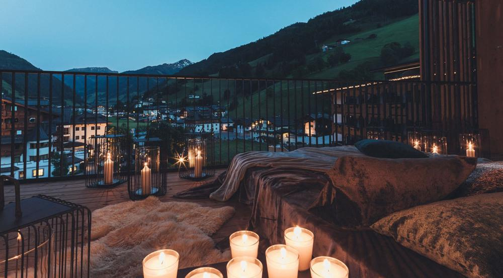 Auf Wunsch schlafen die Gäste im Nesslerhof auf dem Balkon