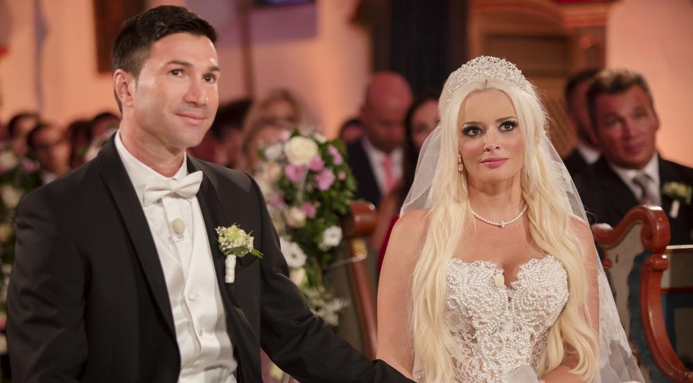 Auch Daniela Katzenbergers eigene Hochzeit mit Lucas Cordalis wurde bei RTL II ausgestrahlt