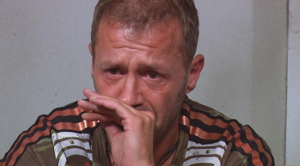 Willi Herren konnte seine Tränen nicht zurückhalten