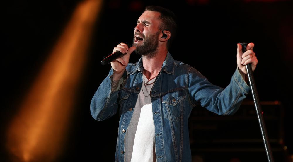 Adam Levine will mit seiner Band Maroon 5 noch lange auf der Bühne stehen