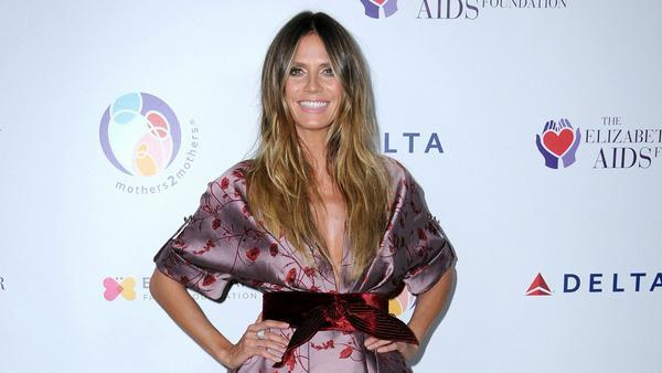 Eine Frau mit Stil und Eleganz: Model Heidi Klum