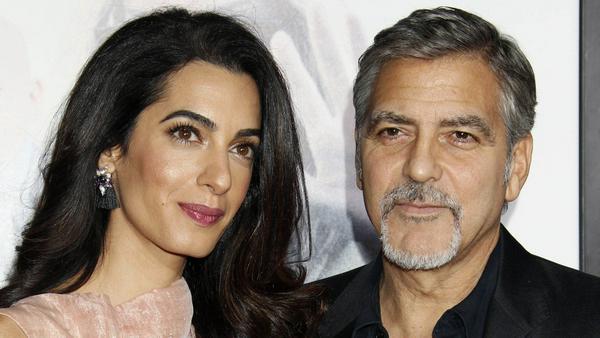 George und Amal Clooney sind seit Juni Eltern der Zwillinge Ella und Alexander