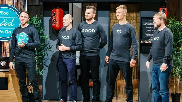 """Die Gründer von """"Too Good To Go"""" in der Sendung vom Dienstagabend"""