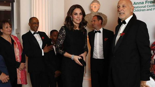 Herzogin Kate beim Gala-Dinner des Anna-Freud-Zentrums