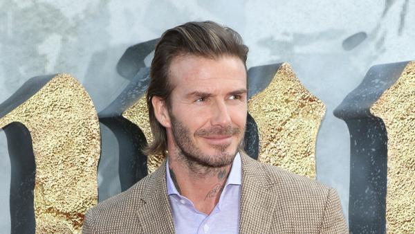 Botox? David Beckham hält davon nichts