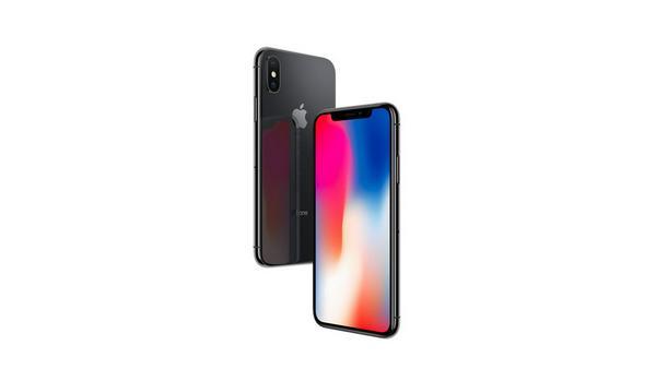 Das iPhone X besitzt keinen sichtbaren Rand - bis auf eine kleine Aussparung an der Oberseite